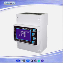 Single/Three Phase Multi Function For V/A/Dmd/KWh/KVarh Din Rail Smart Solar Electric Power Meter With Pulse Output DSM630-Pusle