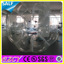 Good quality giant human bubble ball/inflatable bubble balloon