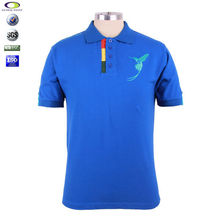 Factory customized retail brand polo t shirts