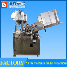 Soft Tube Filling and Sealing machine, Automatic Plastic Soft Tube Filling Machine