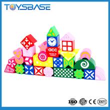 Juguetes educativos divertidos juegos niños de bloques de construcción de venta al por mayor ladrillos
