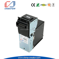 high reliable backload anti-fishing bill Auto-centering bill collector for payment kiosk cash acceptor
