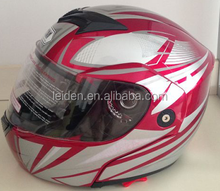 cascos shoei helmet flip up motorcycle helmet shoei TN8635 black/red color helmet for motorcicles