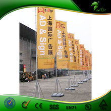 Flag Pole Stands Polyester Printed Flag Banner Flying Outdoor Beach Flag