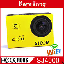 Full HD 1080P Waterproof Digital Camera Original SJCAM SJ4000 WIFI with Wide angle lens