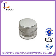 Newest Design Low Price Acrylic cosmetics glass packaging