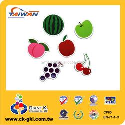 Hot selling gift multipurpose photo fame puzzle fridge magnet fruit