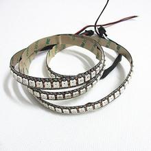 led digital rgb strip ws2812;144LEDs/m,144Pixels/m,2m/roll,white PCB,Waterproof silicon tube IP67,DC5V input