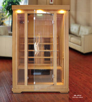 2015 Cheap 2 Person Indoor Dry Steam Sauna Room With Oxygen Ionizer (ISO/CE/TUV/FSC/RoHS)