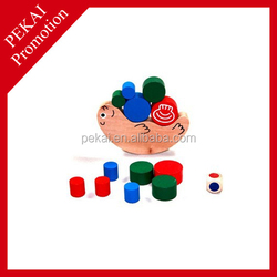 2015 promotion gift educational wholesale wooden toy snake made in China
