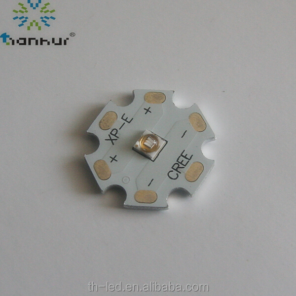 High Power 365nm 3W UV LED For Fluorescence Reaction