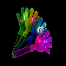 Hand clapper sticks with Super bright light for Christmas party