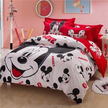 babies mickey and minnie mouse cartoon baby crib bedding set 7pcs quilt/comforter/duvet with pillow bumper mattress sets pink
