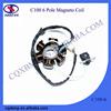 JH70 5 Slot 100% Copper Coil C100 6 Pole Half-Wave Hero Magneto Stator Coil