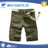 Best sale men cheap cargo shorts with belt