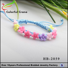 Handmade beads vintage fashion rasta yoga bracelet