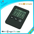 Sol grande LCD ABS Digital Kitchen Timer de contagem regressiva