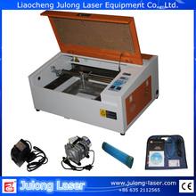 Shandong liaocheng incisione laser macchina di vetro 400mm*300mm
