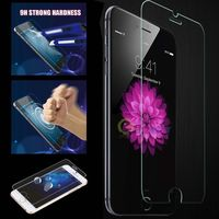 5.5 inch Phone Screen Protector For iphone 6+ 0.3mm Round Edge Tempered Glass Screen Film