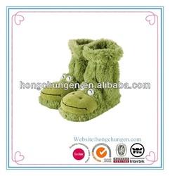 Home Fun For Feet Slipper sock frog