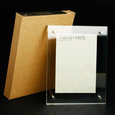 2014 hot sale acrylic photo frame/acrylic photo block wholesale/wall mounted acrylic photo frames