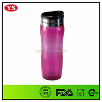 14 oz personalized cool insulated coffee travel mugs with push lid