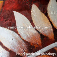 China cheap custom flower designs to paint on canvas