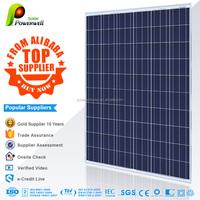 Powerwell Solar High Efficiency Flexible Polycrystalline Sunpower Solar Panel With TUV,CE,SGS,CEC,IEC,ISO,OHSAS,CHUBB Standard