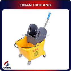 China manufacturer OEM high quality 32L car lateral pressure mop wringer trolley