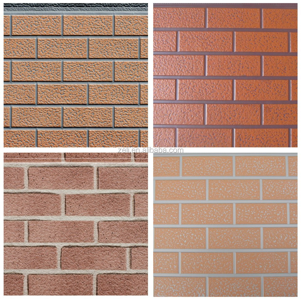 3d brick wall panel decoration pu exterior wall panel for 3d brick wall covering