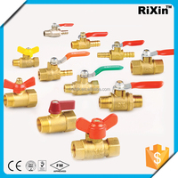 "RX 1174 3/8"" Male Thread ball valve 3/8"" copper ball valves 3/8"" 2pc ball valves"