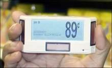 Customized electronic shelf label esl for supermarket and hypermarket
