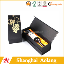 custom made paper wine pack box
