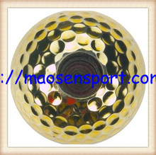 coloured ribbon golf gift ball high quality used in opening ceremony