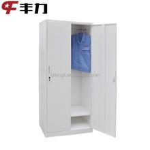 ISO Certified Fengli Brand Office and Home use 2 door metal lockers