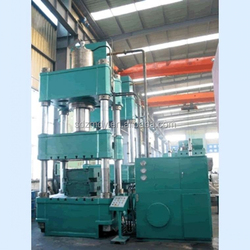 Pressure molding of plastic and metal power parts YZM32-100T hydraulic press machine