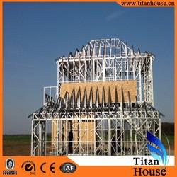 China manufacture Luxury luxury light gauge prefabricated steel framing