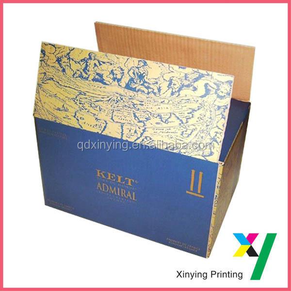 Ecofriendly Corrugated Qingdao Packaging Box