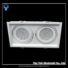 LED Recessed Rectangular Spotlight / Downlight AR111 24W