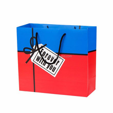 High quality Twist paper handle bags cheap wholesale