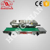 Hongzhan Hot sale CBS-900/980/1100 series automatic continuous band sealer machine,sealing machine