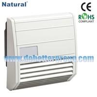 Low maintenance Filter Fan FF 018 Series 21m3/h to 102m3/h 97x97mm