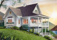 most popular model prefabricated vocation house W2939