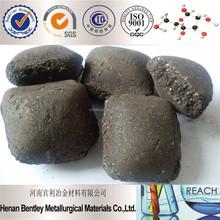 Black SiMn Briquette Silicon Manganese
