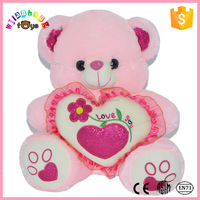 2015 big size adult plush and stuffed toys of plush bear made in China