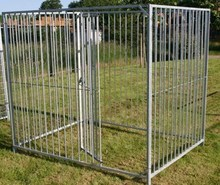 2015 hot sale high quality welded wire mesh dog cage large dog cage for sale iron dog cage(ISO 9001)