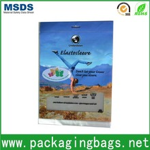 New products poly bag with head for clothes /chuck bag/opp bag with burrerfly hole