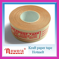 Customized brown kraft paper tape with printed logo