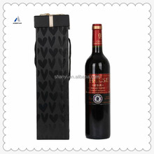 Mountain Fancy White and Black Strips Round Tube Wine Extension Box