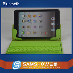 leather case tablet bluetooth keyboard 7.9 for iPad Mini factory